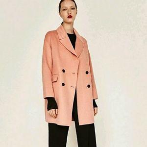 NWOT Zara Double Breasted Coat